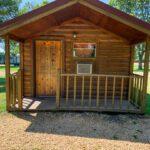 yogi bear cabin, camping