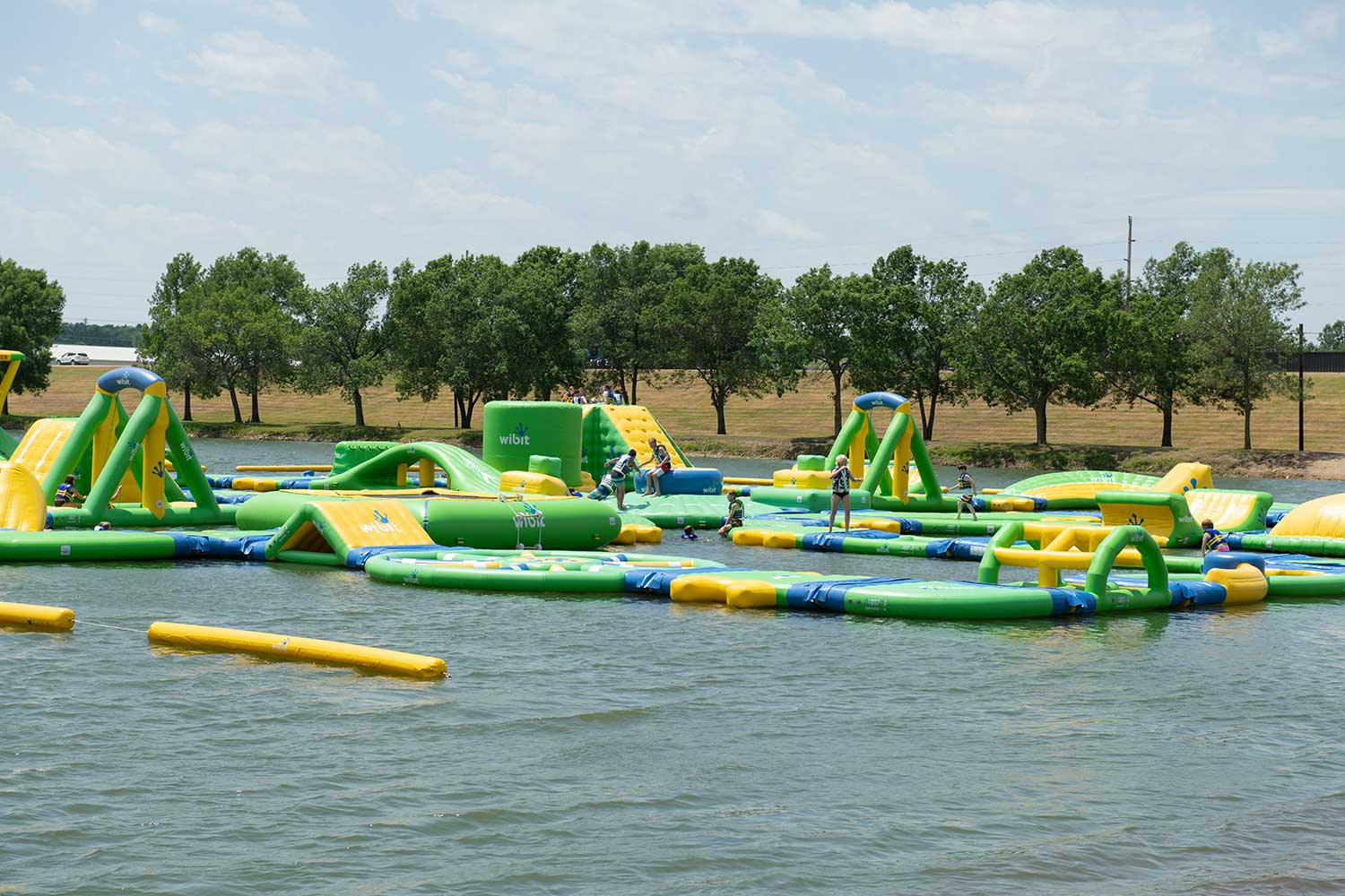 wibit water course, attractions