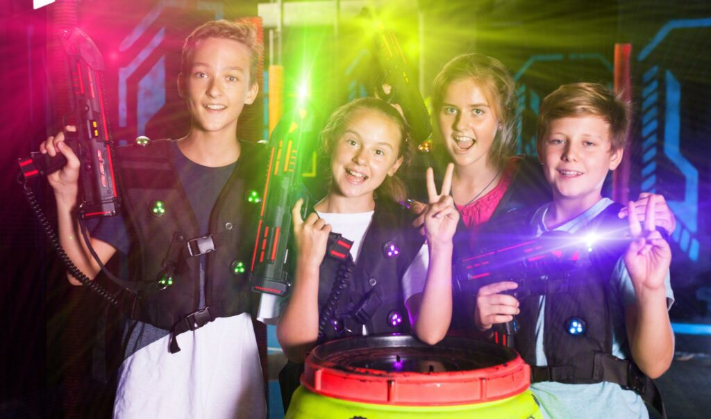 laser tag, attractions