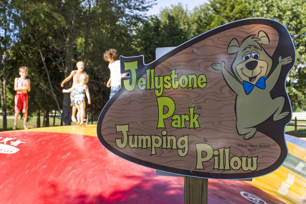 jumping pillow, attractions